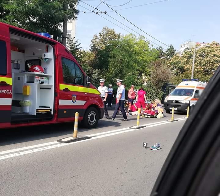 Pieton accidentat MORTAL în Gheorgheni FOTO