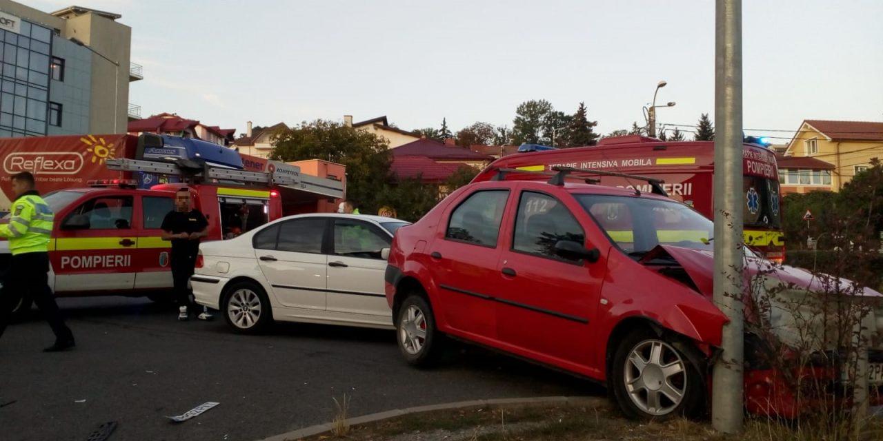 Accident pe Calea Turzii FOTO