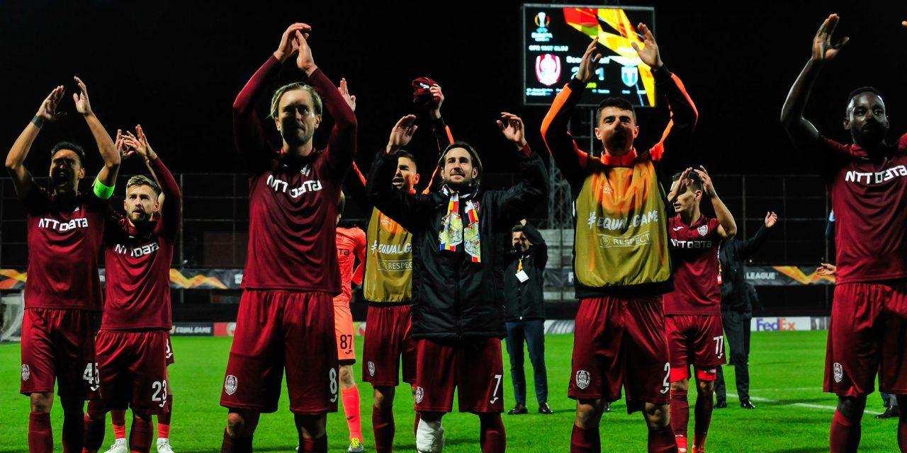 CFR Cluj – Lazio Roma 2-1