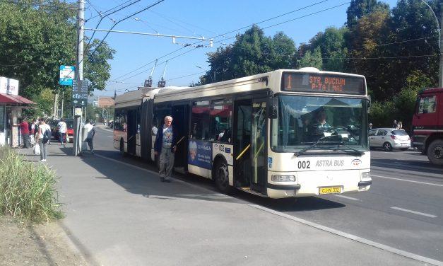 CTP Cluj: Linia 1 revine la traseul de bază