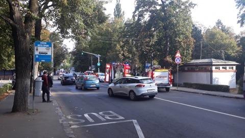 Cluj: Femeie pe trotinetă lovită de mașină VIDEO