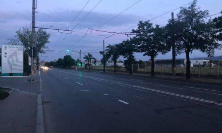 Semafor și treceri de pietoni noi pe Bulevardul Muncii FOTO