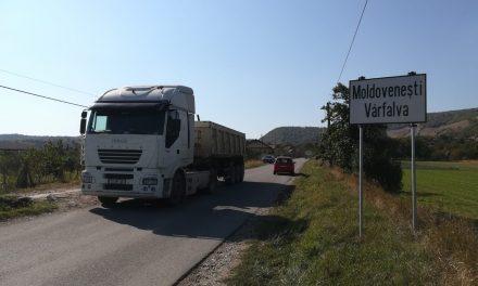 Cluj: Lucrări de întreținere pe drumul județean 103G Moldovenești – limită cu județul Alba