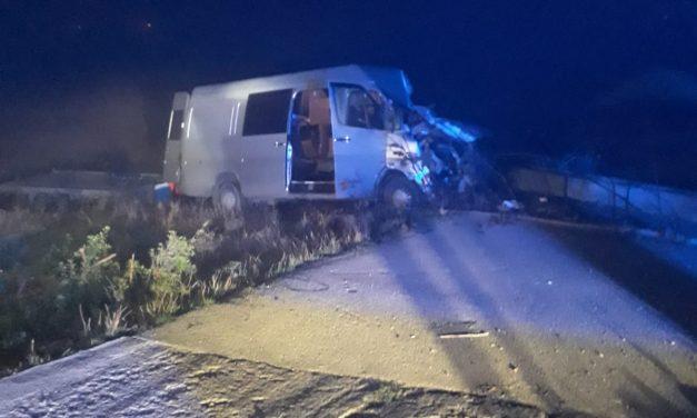 Accident mortal la Bunești. O persoană a decedat  FOTO