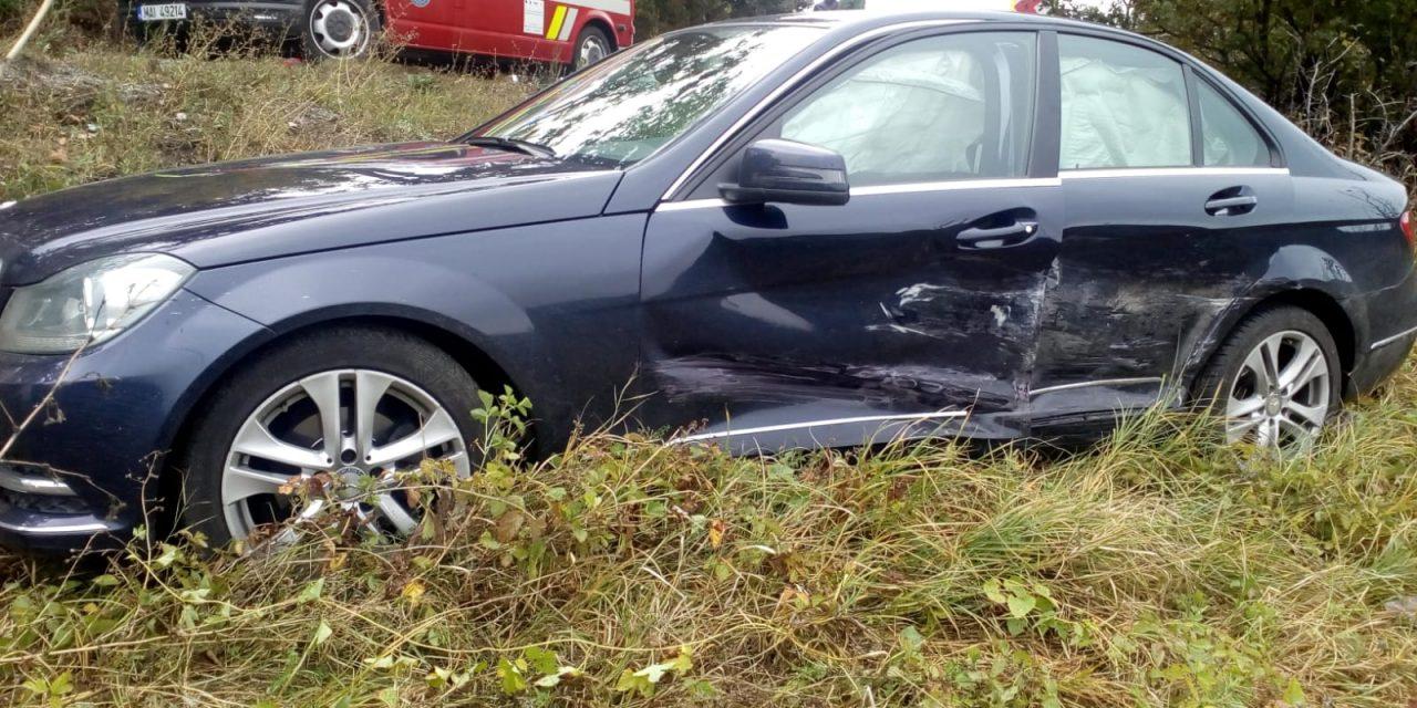 Accident cu două victime în Bologa FOTO