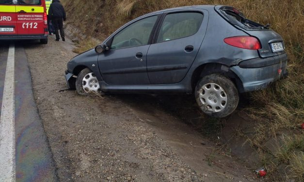 Accident in Valcele FOTO