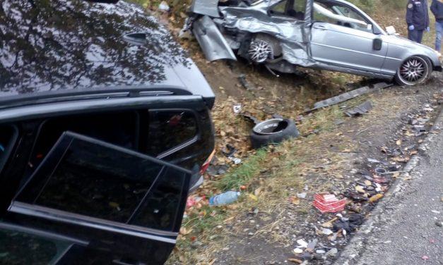 Accident cu 4 victime, la Turmași FOTO
