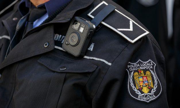 125 de camere video portabile pentru Poliția Locală Cluj-Napoca