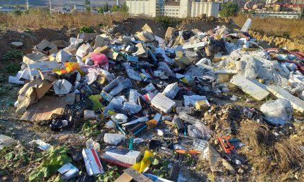 Cluj: Sancțiune de 2000 de lei din cauza nerespectării normelor de transport a deșeurilor FOTO