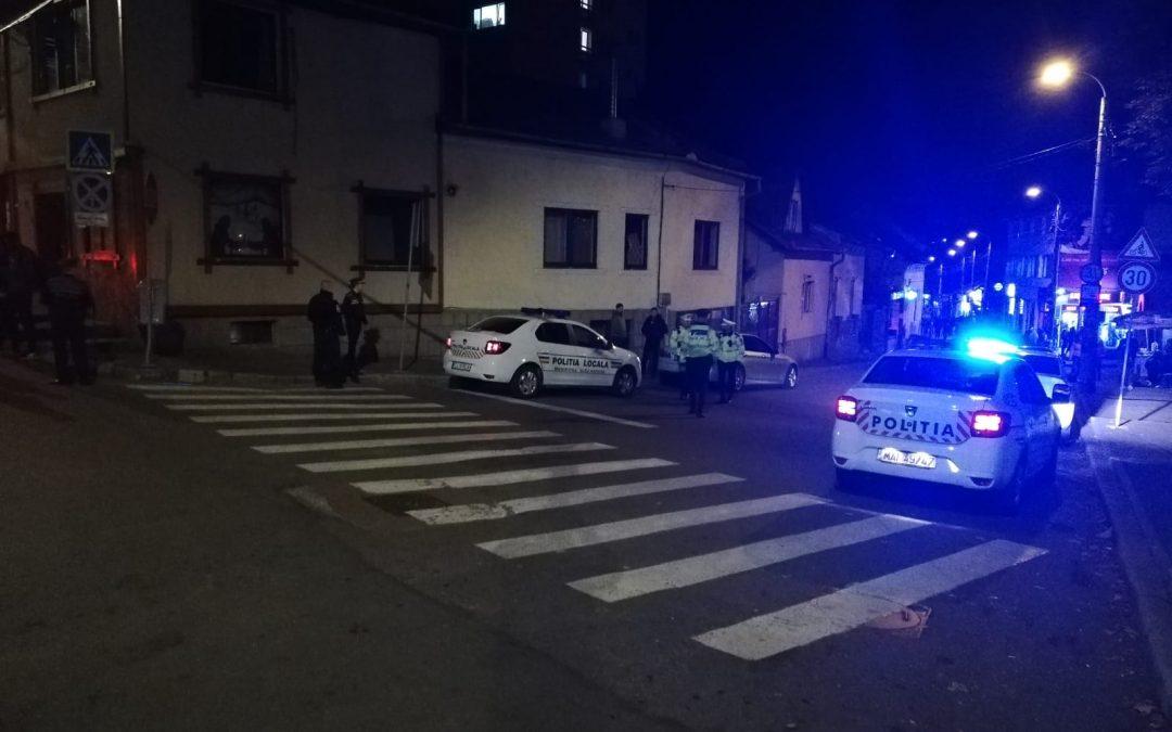 Razie de amploare, cu efective mărite, la Cluj-Napoca  FOTO