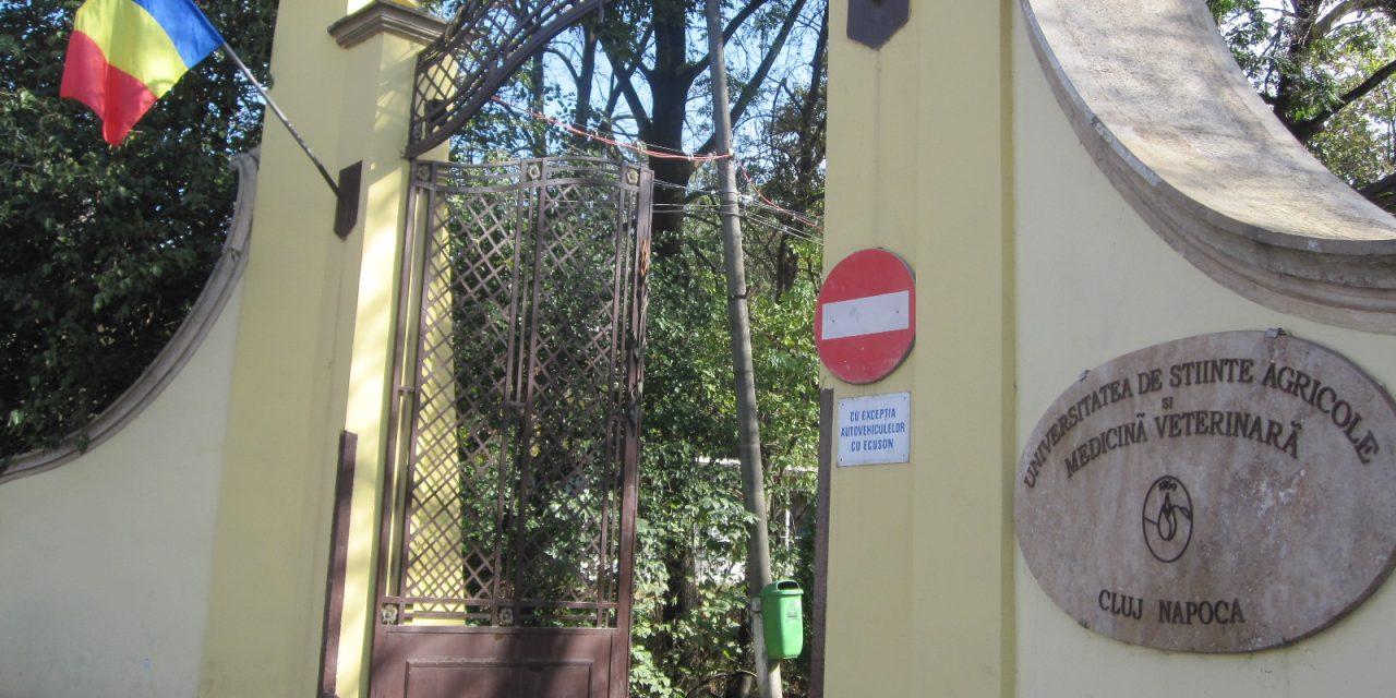 Furt la USAMV Cluj. Hoții au fugit cu banii din casierie