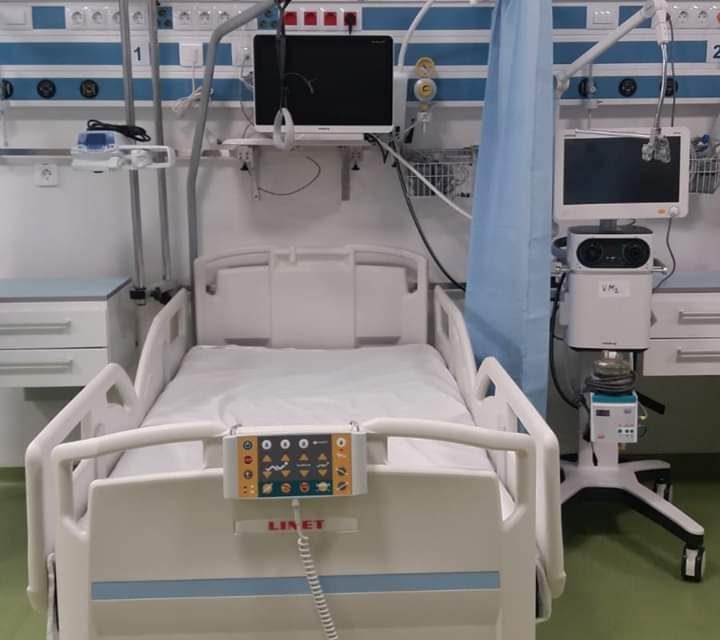 Compartimentul ATI, care deserveşte Secţia Clinică Chirurgie Generală II şi Secţia Chirurgie Vasculară, a trecut printr-un amplu proces de modernizare FOTO