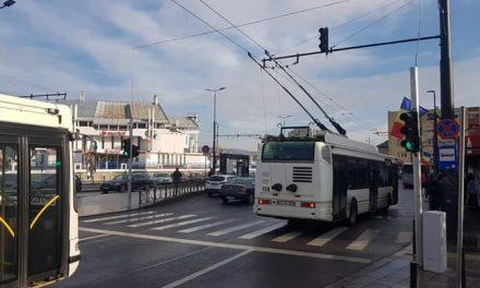 Punere în funcțiune semafor nou în Cluj-Napoca