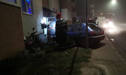 Accident pe strada Cetății din Florești FOTO
