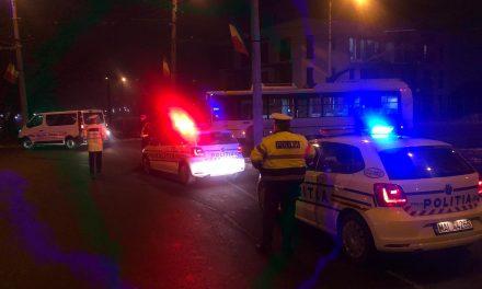 Acțiuni ale polițiștilor clujeni, zeci de sancțiuni aplicate