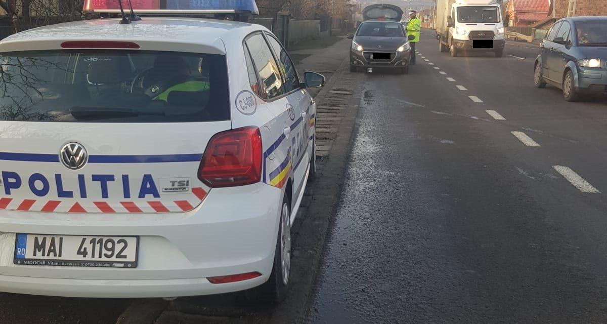 Razie în trafic la Cluj :  Polițiștii au reținut 11 permise de conducere și au retras 3 certificate de înmatriculare