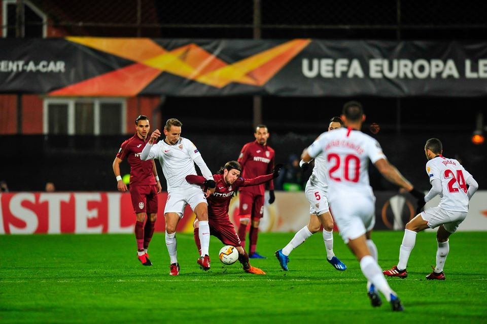 CFR Cluj-F.C Sevilla 1-1