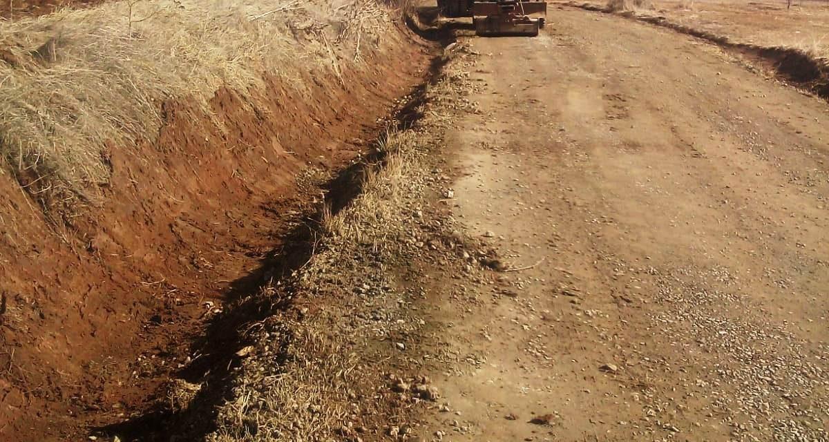 Lucrări de întreținere pe drumul judeţean 107R Filea de Jos – Filea de Sus – Săcel  FOTO
