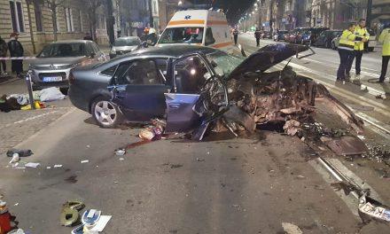 Accident MORTAL pe strada Horea FOTO-VIDEO