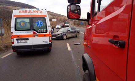 Accident în Feleacu FOTO