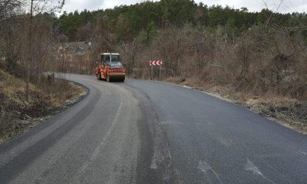 Au fost finalizate lucrările de asfaltare pe drumul județean 108C Gârbău – Aghireșu – Leghia