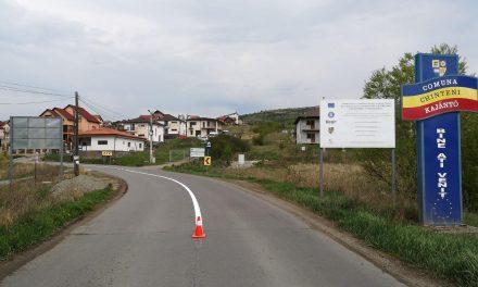 Cluj: Lucrări de marcaje rutiere în lungime de peste 117 kilometri, pe opt sectoare de drumuri județene