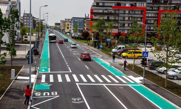 Cluj-Napoca: Strada Bună Ziua a fost modernizată și redată circulației FOTO