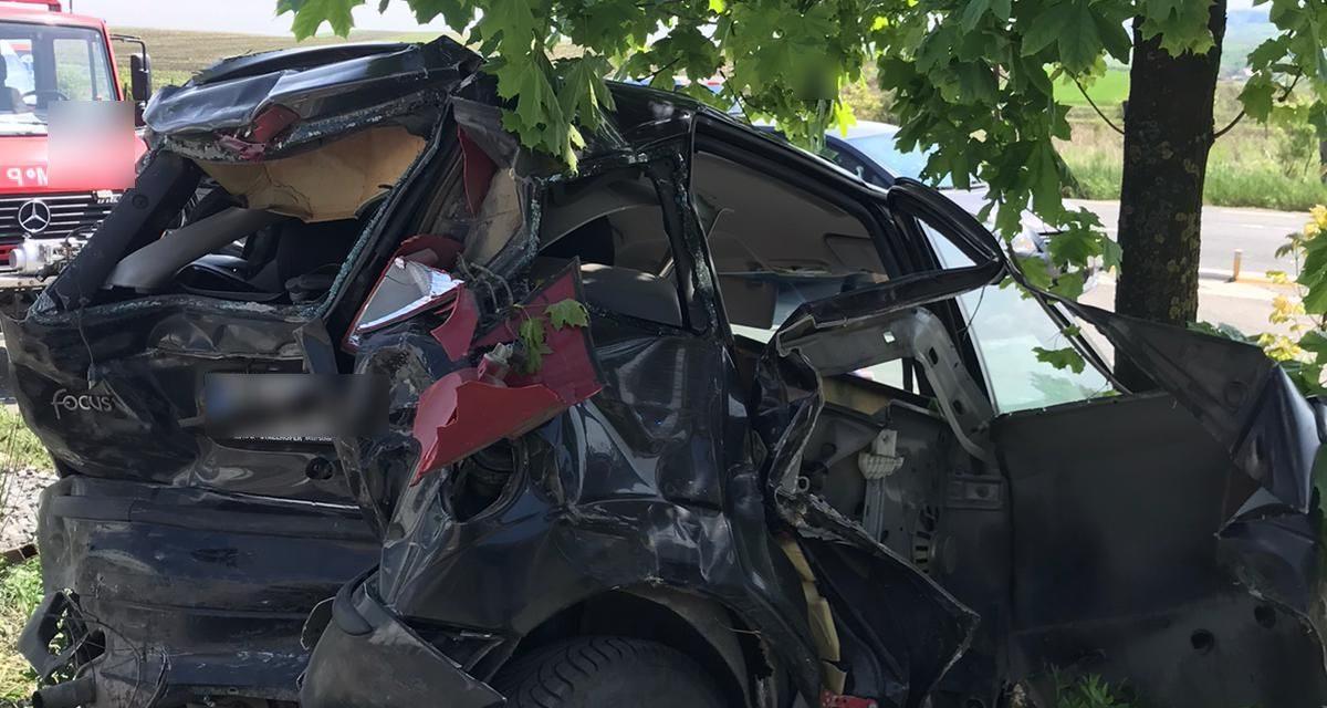 Accident în Tureni FOTO
