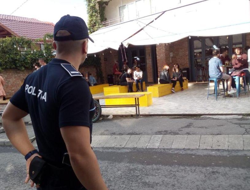 Acțiuni preventive ale polițiștilor în Cluj-Napoca FOTO