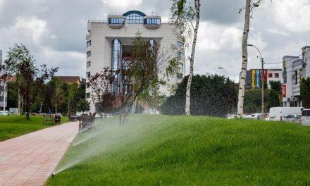 Aleea Bibliotecii din Cluj-Napoca a fost modernizată FOTO