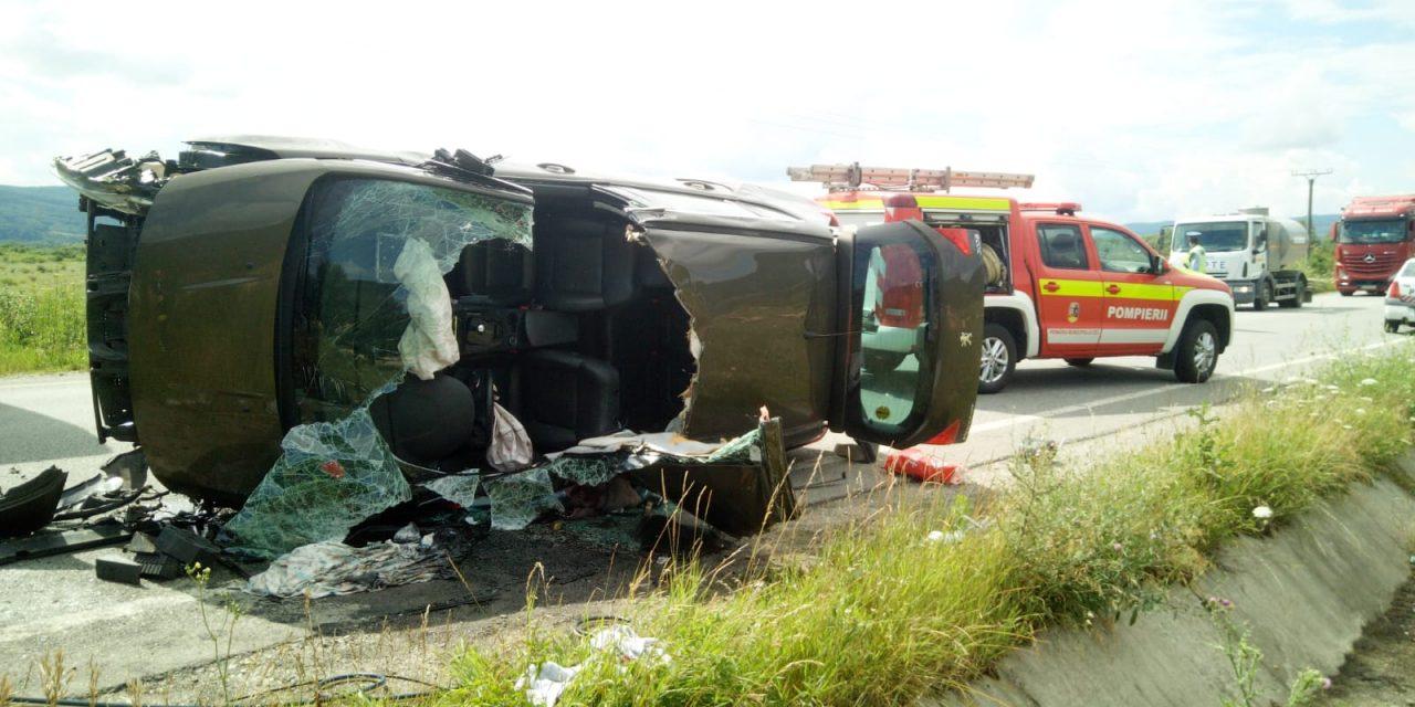 Accident între Urișor și Cășeiu  FOTO