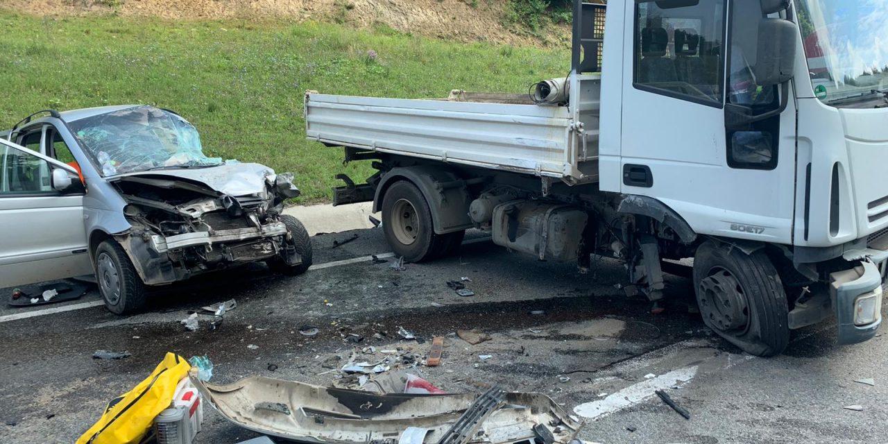 Accident GRAV pe centura Valcele- Apahida FOTO