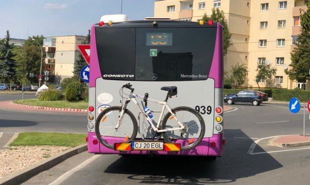 Proiect-pilot: Autobuze cu suport pentru biciclete