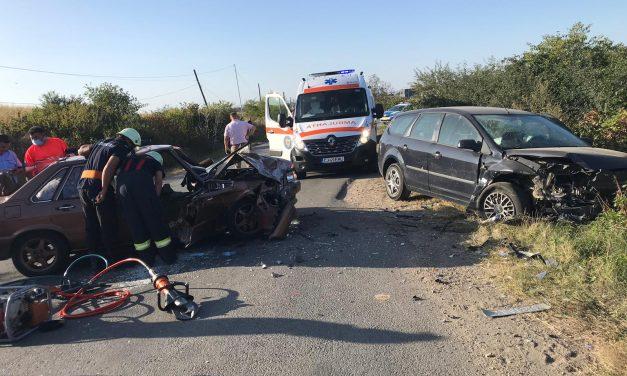 Accident MORTAL pe un drum din Cluj. O femeie și-a pierdut viața FOTO