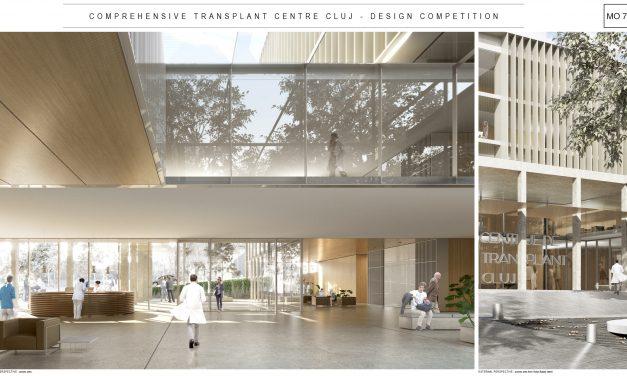 """A fost anunțat câștigătorul Concursului Internațional de Soluții pentru """"Centrul Integrat de Transplant Cluj-Napoca"""""""