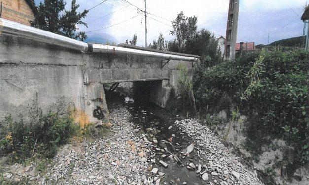 Consiliul Județean va construi un nou pod în localitatea Jichișu de Jos, pe drumul județean 161D