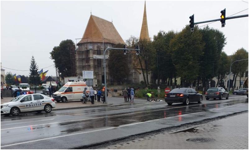 Cluj: Biciclist spulberat de un TIR pe DN1E60
