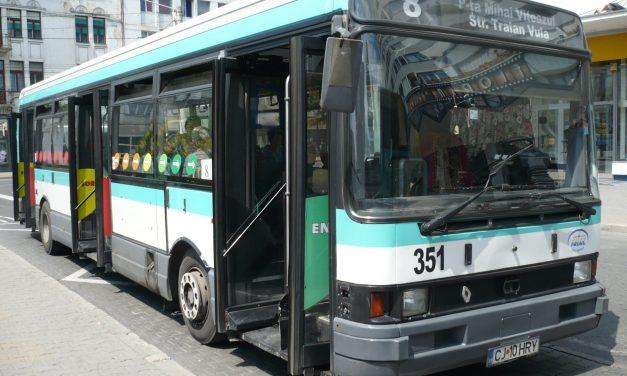CTP Cluj: Modificări de program pentru linia 8