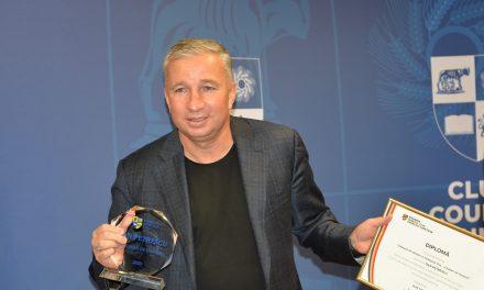 Marele fotbalist și antrenor Dan Petrescu, Cetățean de Onoare al Județului Cluj