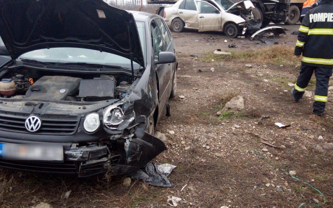 Accident la ieșire din Turda  FOTO