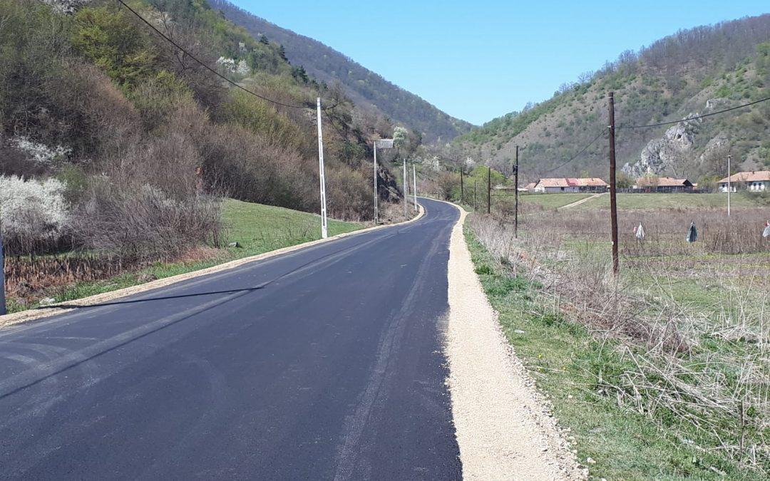 Cluj: Lucrările de modernizare a drumului județean 107M vor fi reluate, cu fonduri europene