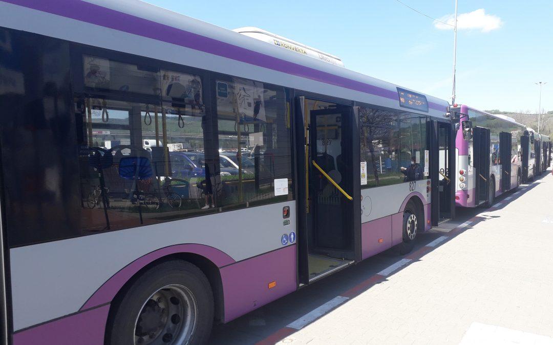 CTP Cluj: Suplimentare linii transport elevi