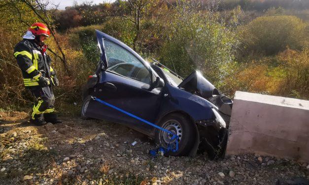 Accident MORTAL pe DJ109A
