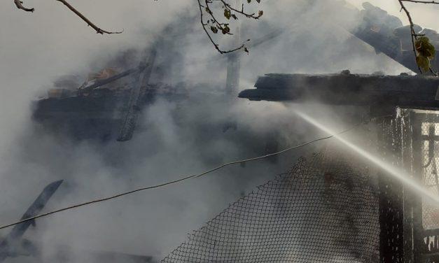 Incendiu de locuință în localitatea Hodișu
