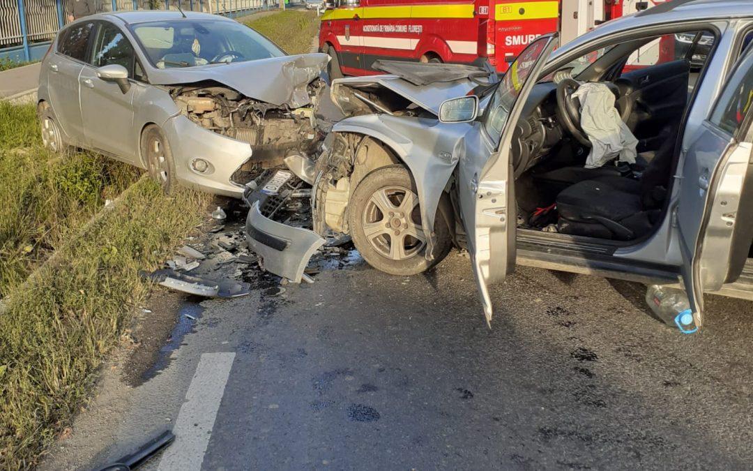 Accident cu 4 victime în Florești FOTO