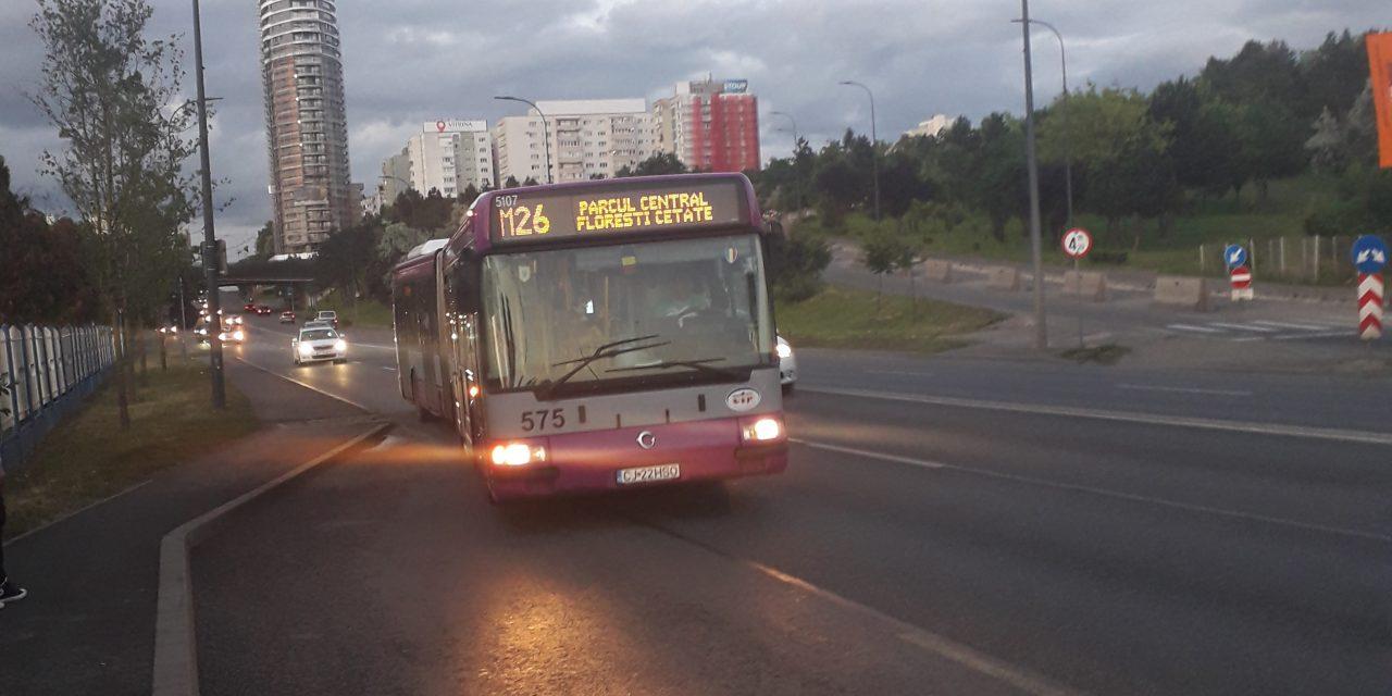 Modificări de traseu pentru linia M26, la cererea publicului