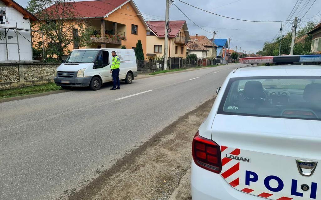 Cluj: 572 de sancțiuni contravenționale aplicate și 60 de permise reținute